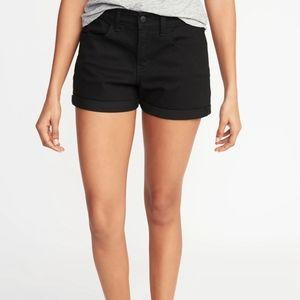 Old Navy black diva shorts